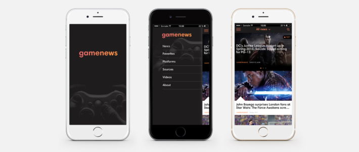 News aggregator platform (back-end + web + mobile)