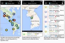 SaaS system of sending threats alerts